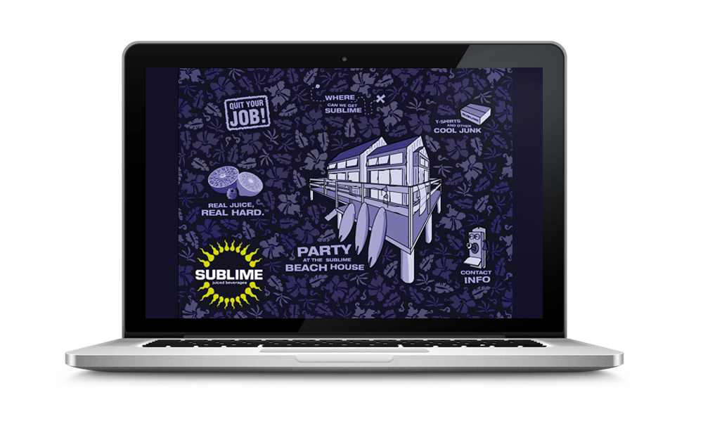 Sublime Microsite | Lead Designer: Kevin Cimo
