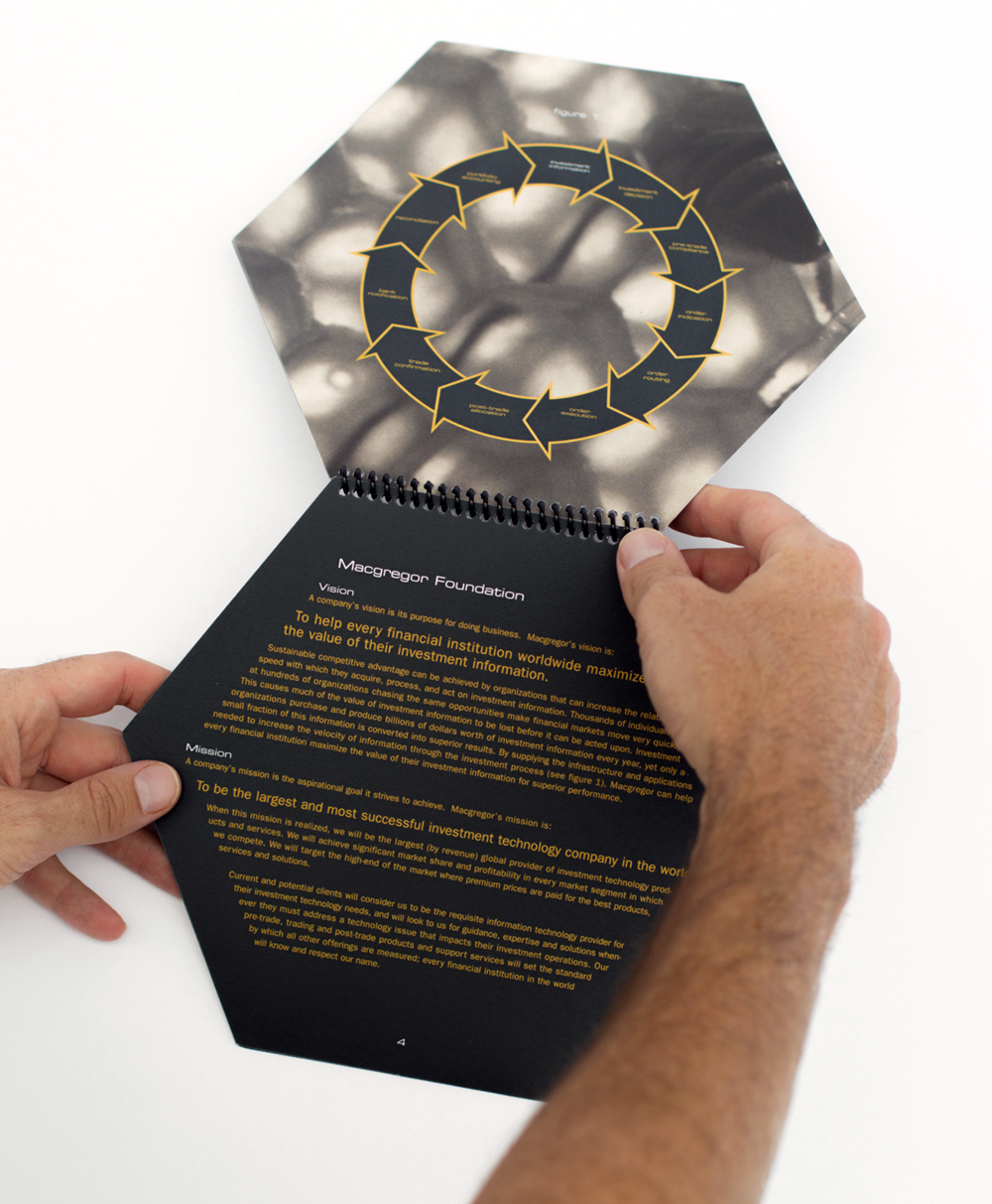 Internal Brand Book - Hexagon Die-cut