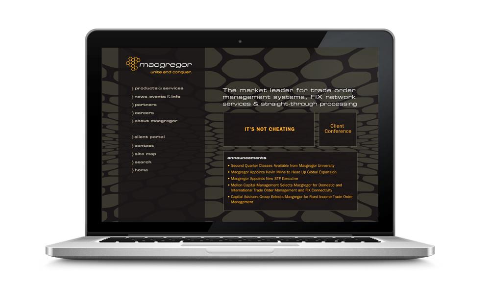 Macgregor Website Redesign   Designed with Ariel Broggi