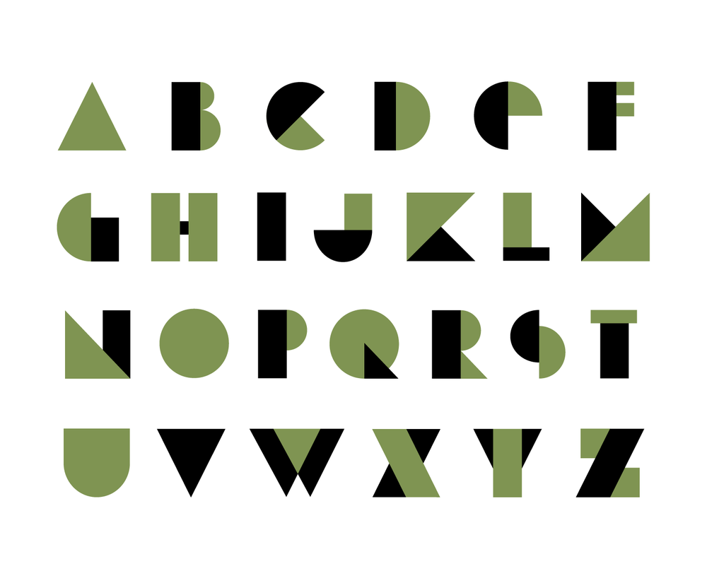 "HappyBombs ""HappyFace"" Typeface Design 