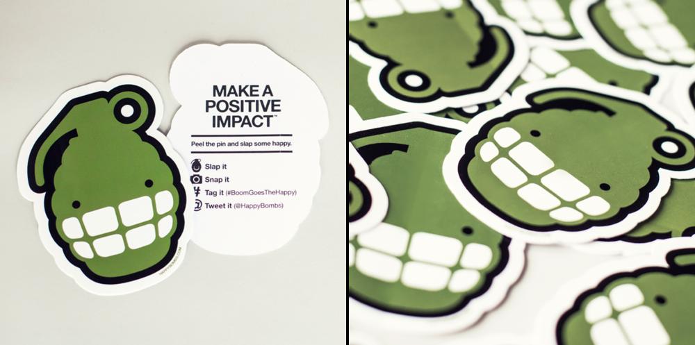 Original HappyBomb Sticker