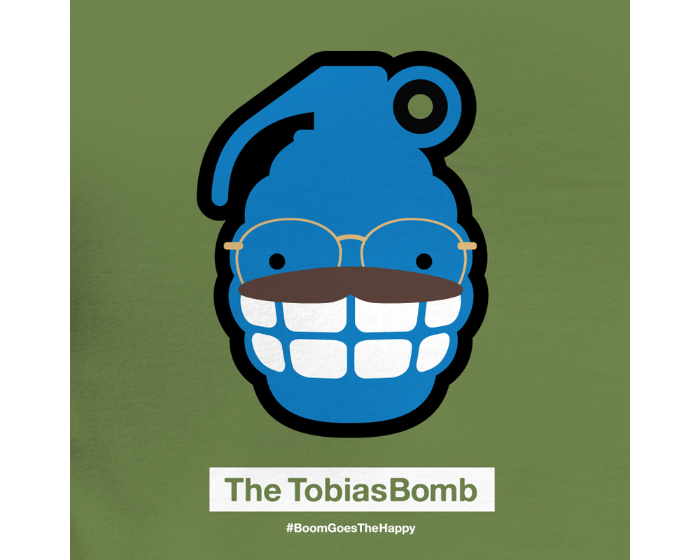 Day 21: The TobiasBomb | Designed with Phil Davis