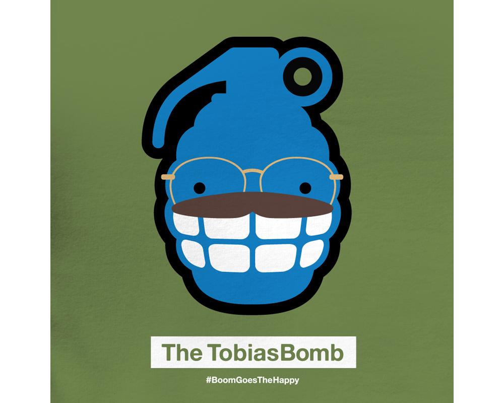 Day 21: The TobiasBomb | Designed with Phil Davis