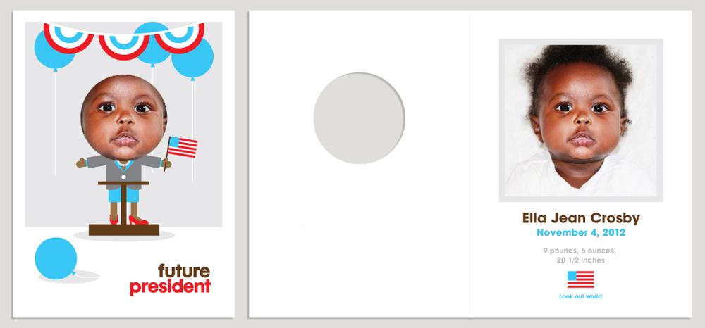 "Sample ""Future"" Baby Announcement"