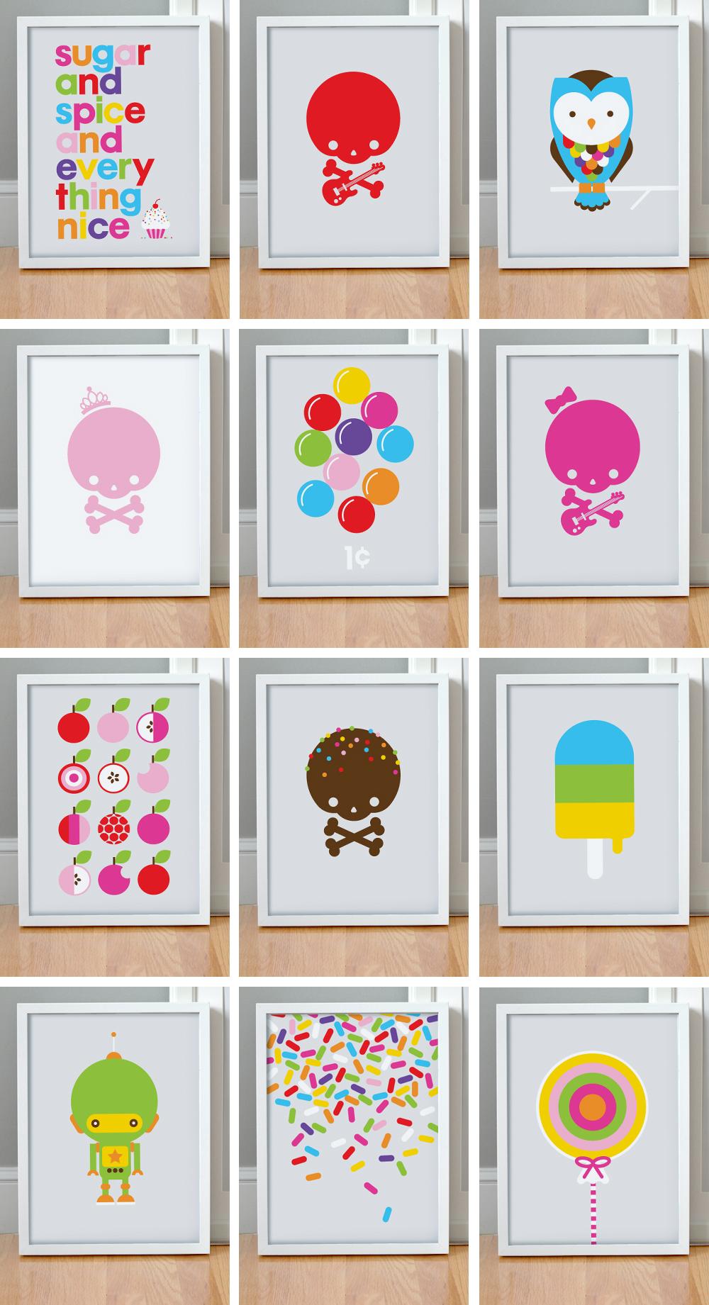 "Sample ""Graphic"" Wall Art"