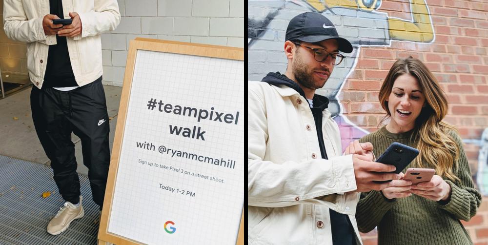 #teampixel walk with @ryanmcmahil