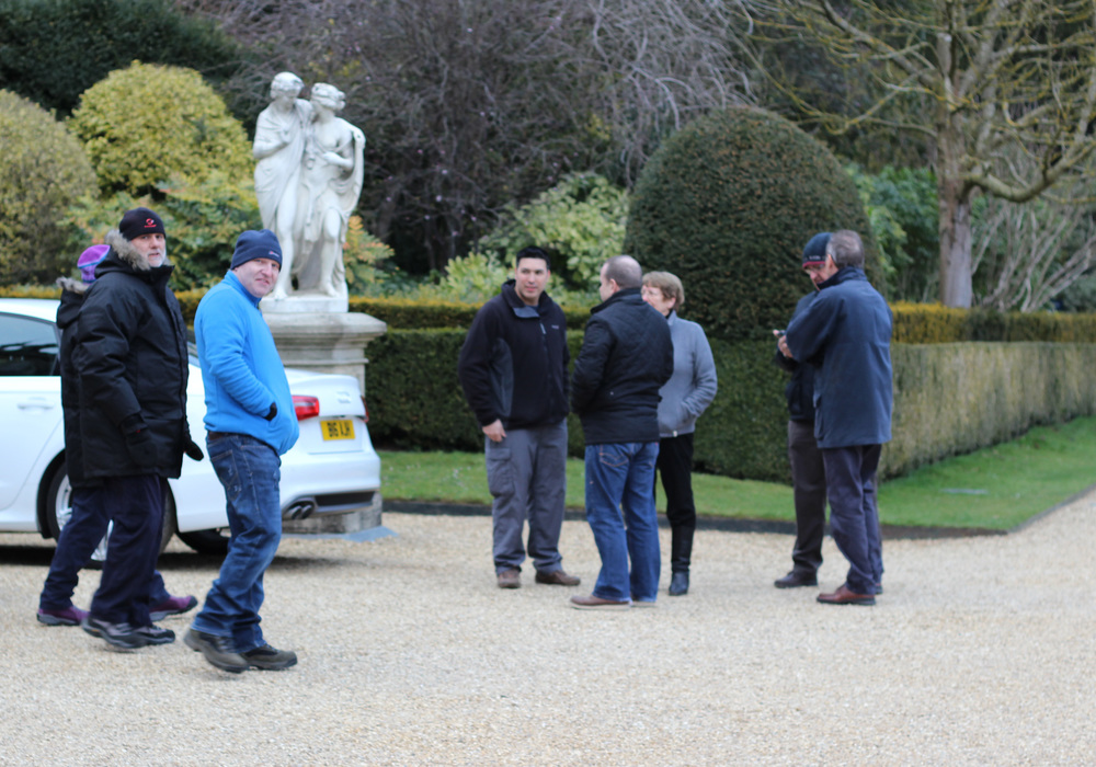 WAS Members Park Up & Discuss Weather