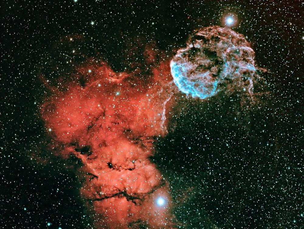 Jelly Fish Nebula