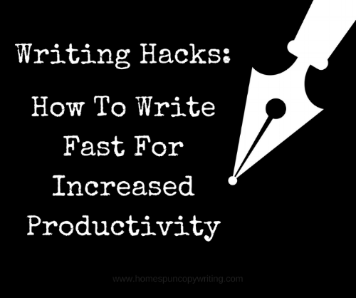 Write-fast-increase-productivity