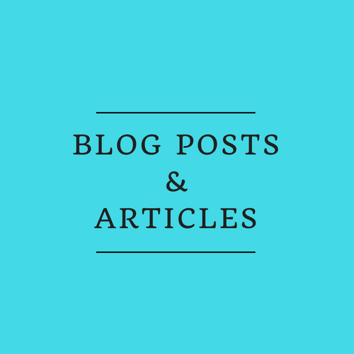 Blog Posts and Articles