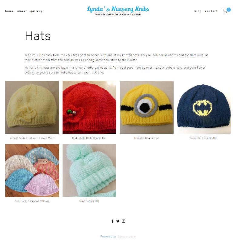 Hats Description -