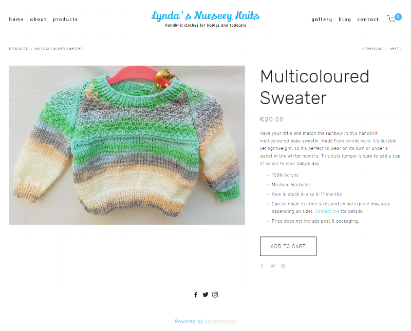Multicoloured Sweater -