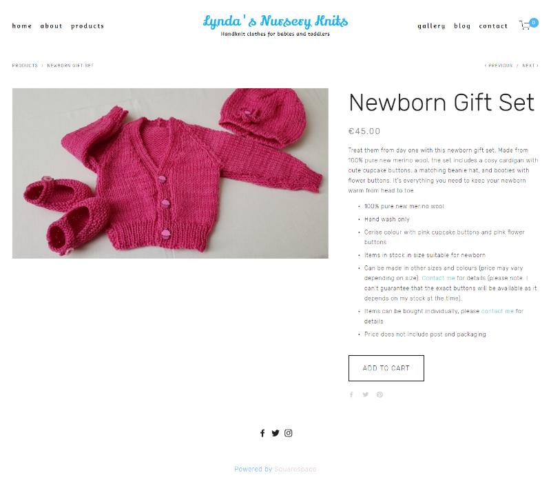 Newborn Gift Set -