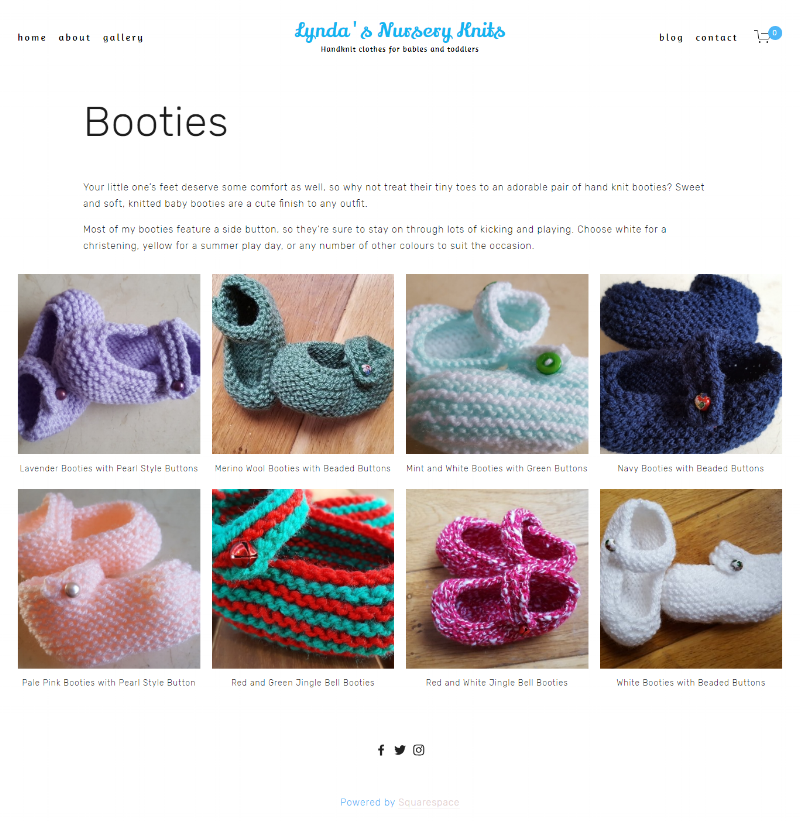 Booties Page -
