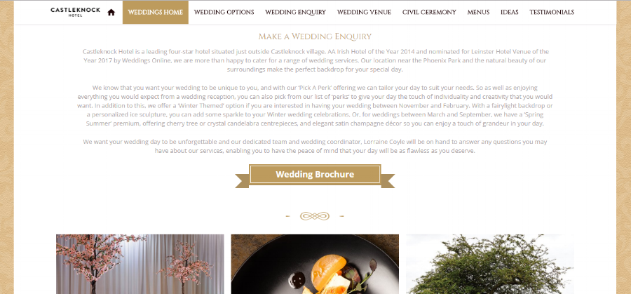 Weddings Homepage -