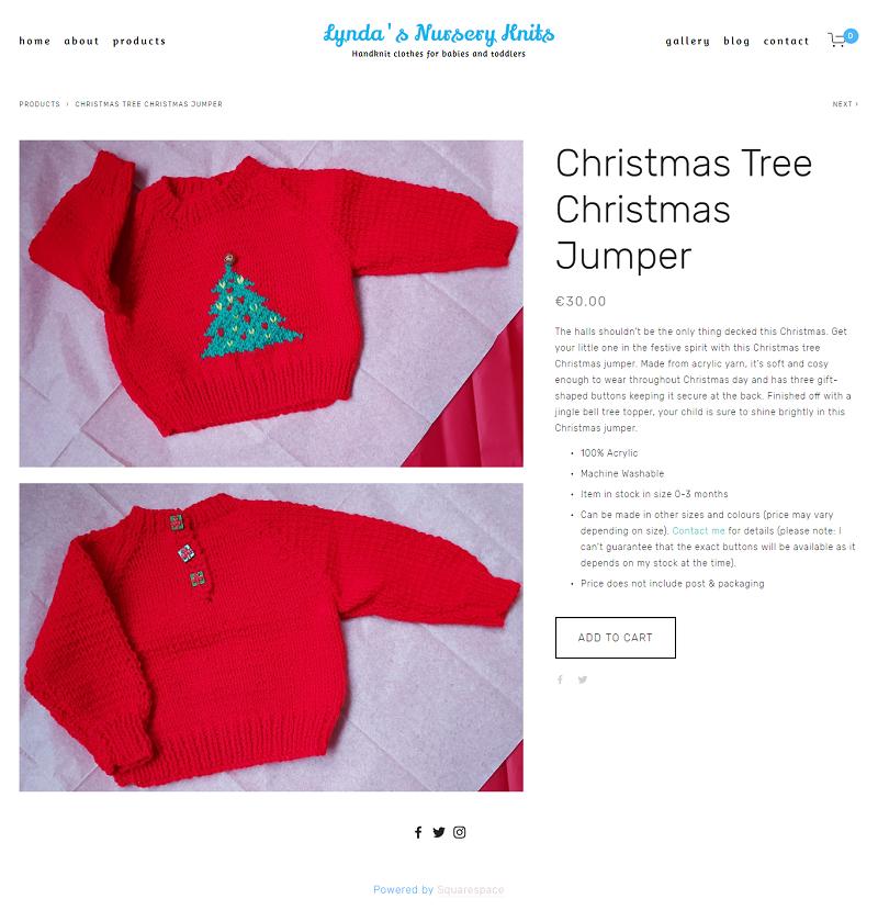 Christmas Tree Christmas Jumper -