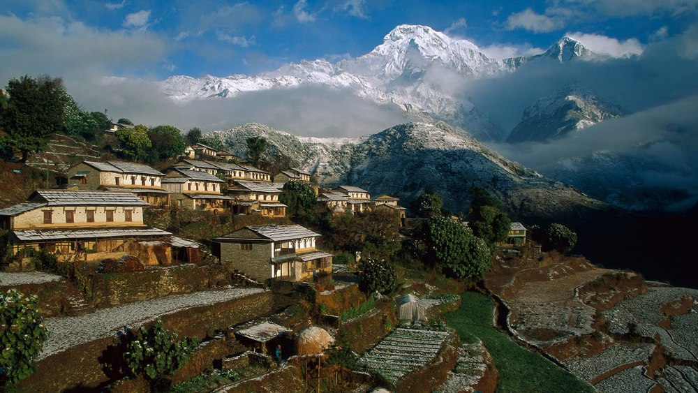 Trekking through Ghandruk, Nepal (Annapurna range)