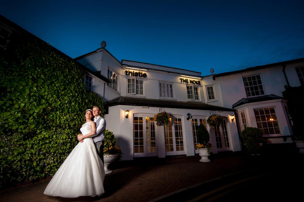 Noke Thistle Hertfordshire Wedding Photographer