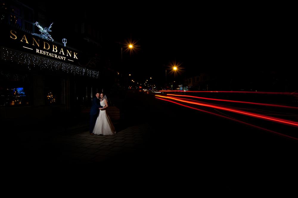 The Sandbank Southend Wedding Photographer