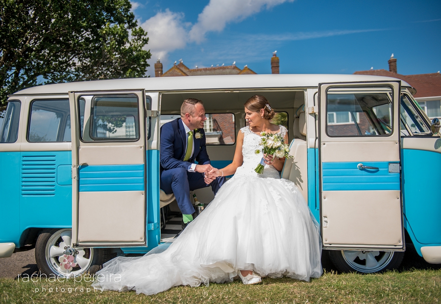 A Southend on Sea Wedding at The Roslin Beach Hotel - with a VW ...