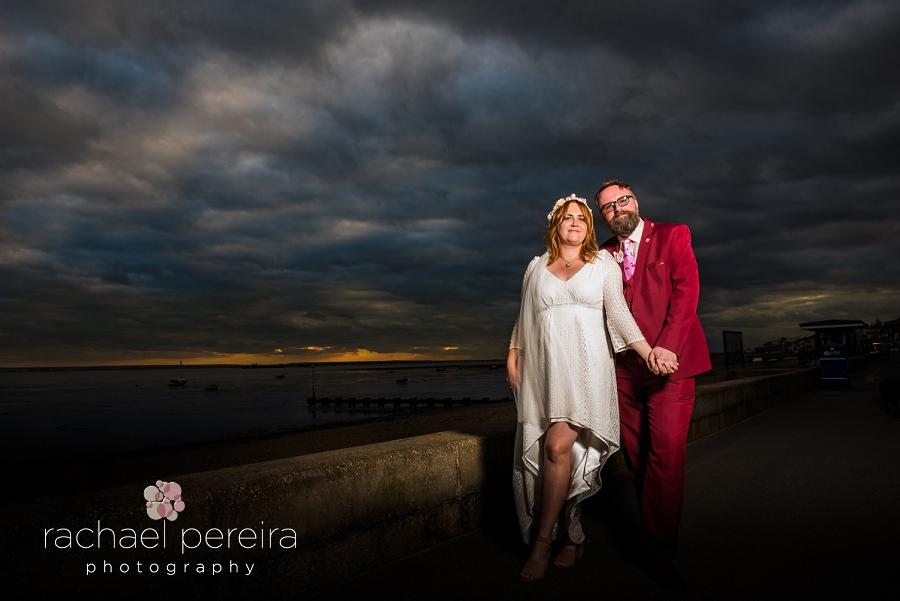 roslin beach wedding