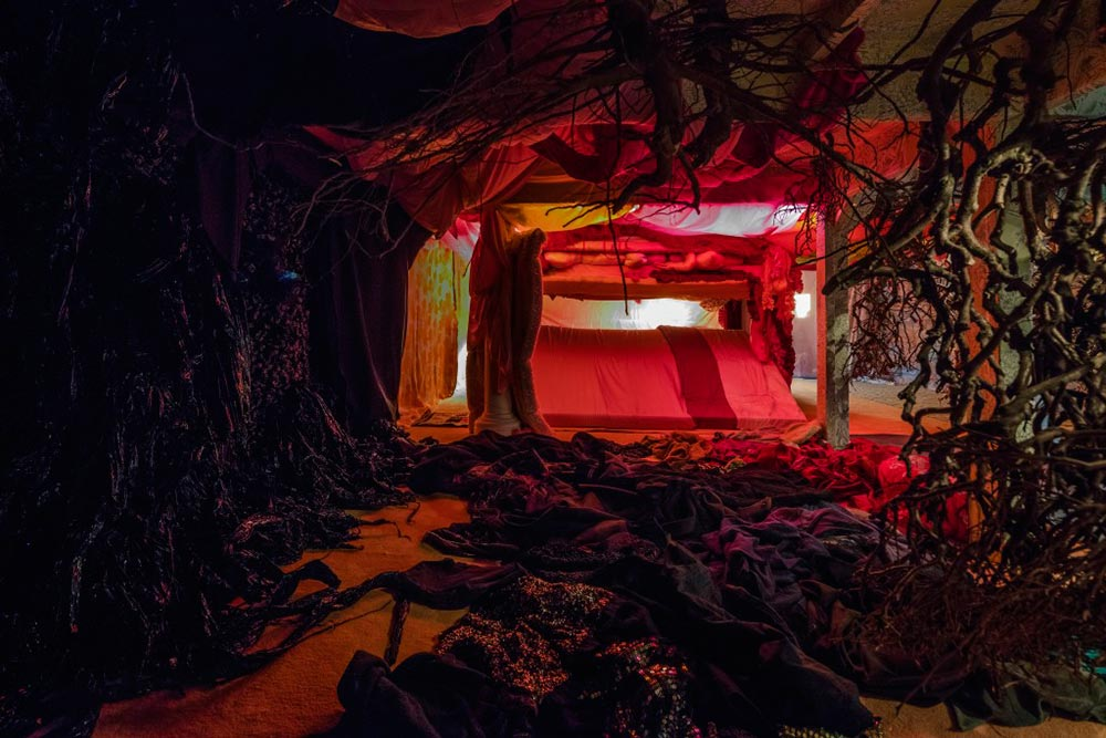 From the exhibition Hide, Overgaden, 2016  Photo Credit: Anders Sune Berg