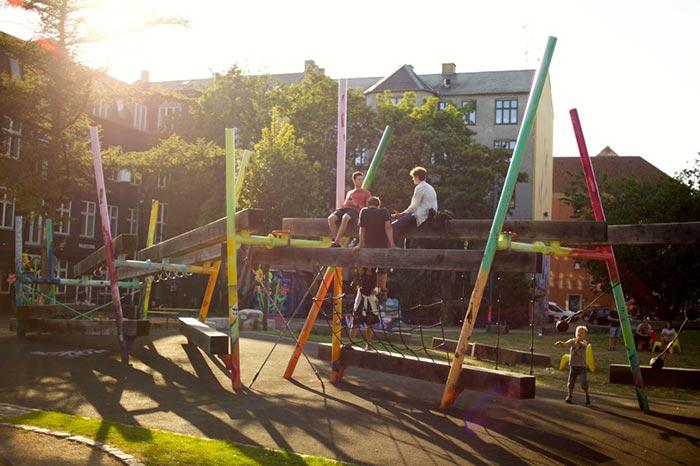 Folkets Park (The People's Park in Copenhagen)