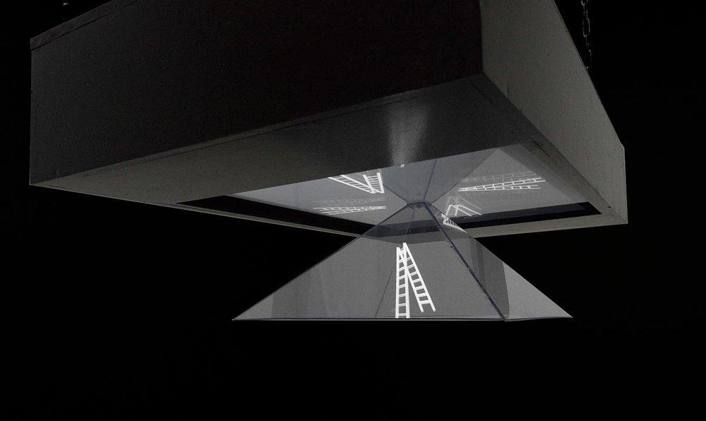 Noget iboende - Hologram - 2016 - Det som står tilbage - Viborg Kunsthal