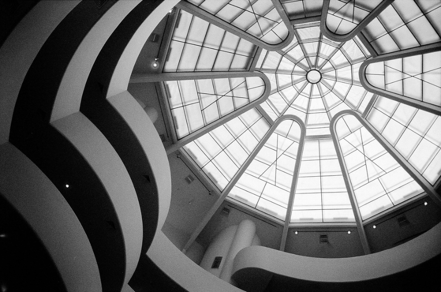 Thomas Claveirole. Guggenheim Museum, New York City, 2009