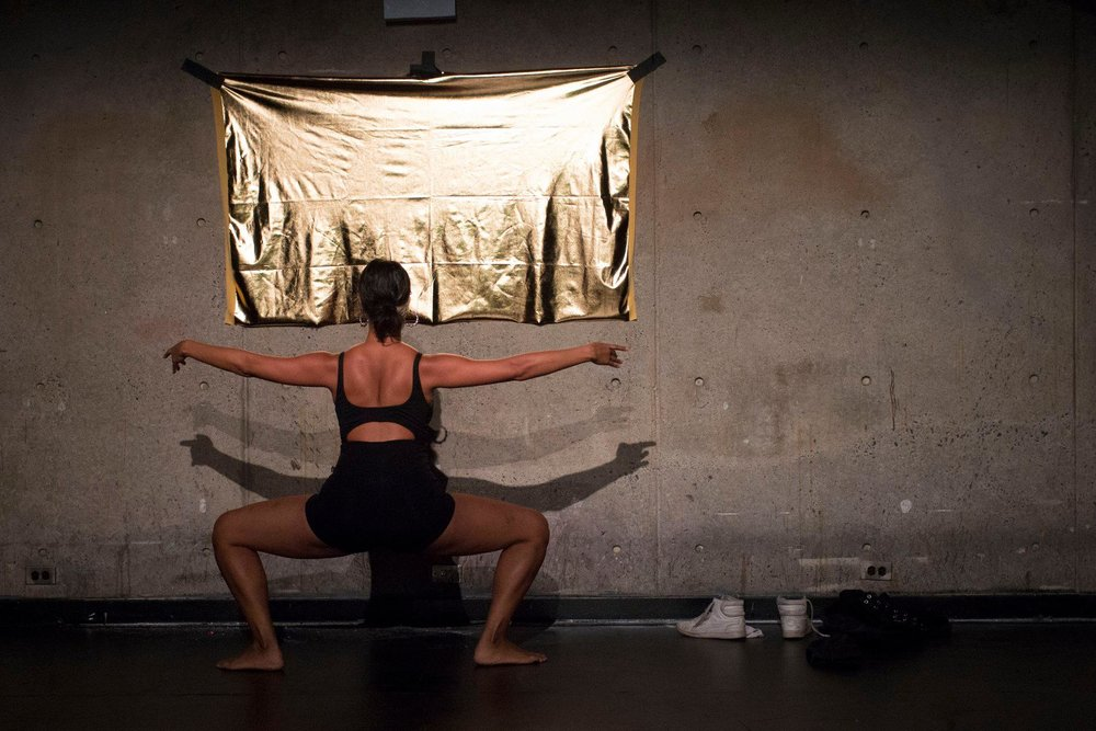 Rad moved between the rigid classical ballet that conditioned them in their youth, traditional Afro- Indigenous Brazilian moves where they found healing and history, and contemporary queer club dancing in which they find a sense of home today.