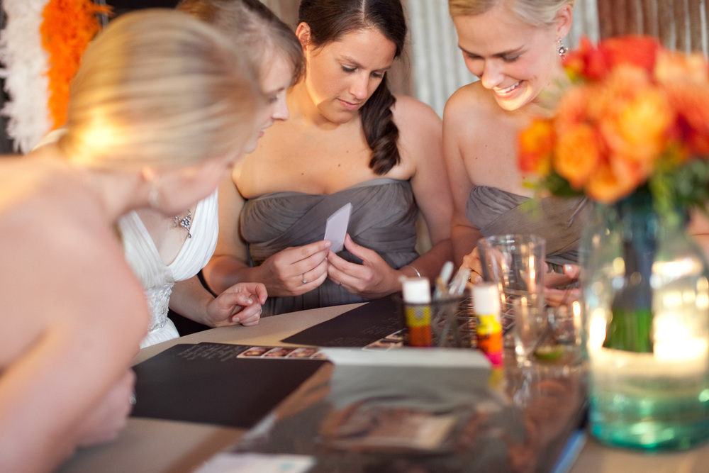 Save the memories from your event  in an elegant scrapbook