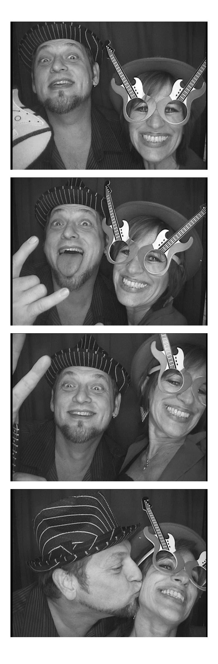 photo booth Christmas party