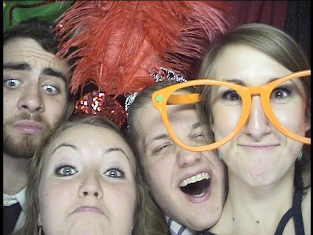 Sorority Formal Photo Booth Pics
