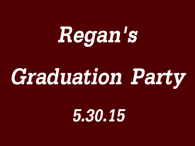 Regan Harmon Graduation - 053015-H