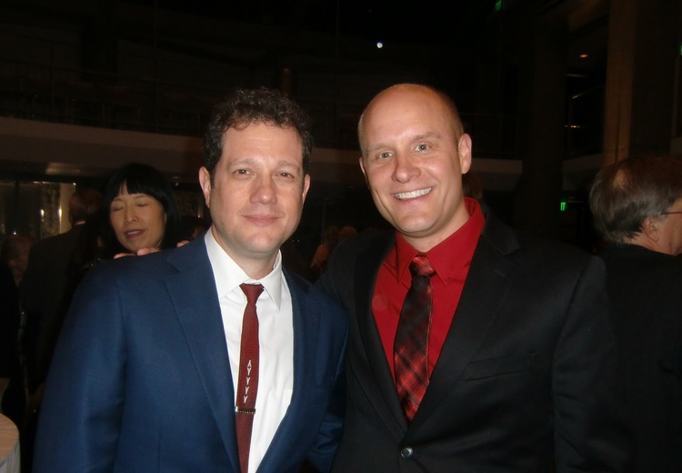 With Michael Giacchino