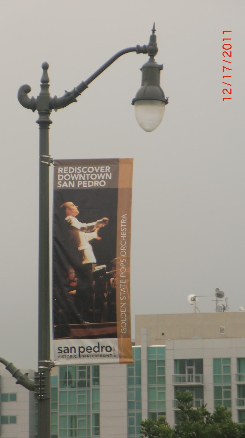 Street Banner in LA