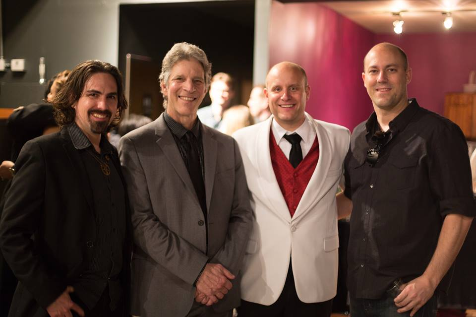 With Bear McCreary, Peter Bernstein & Victor Pesavento