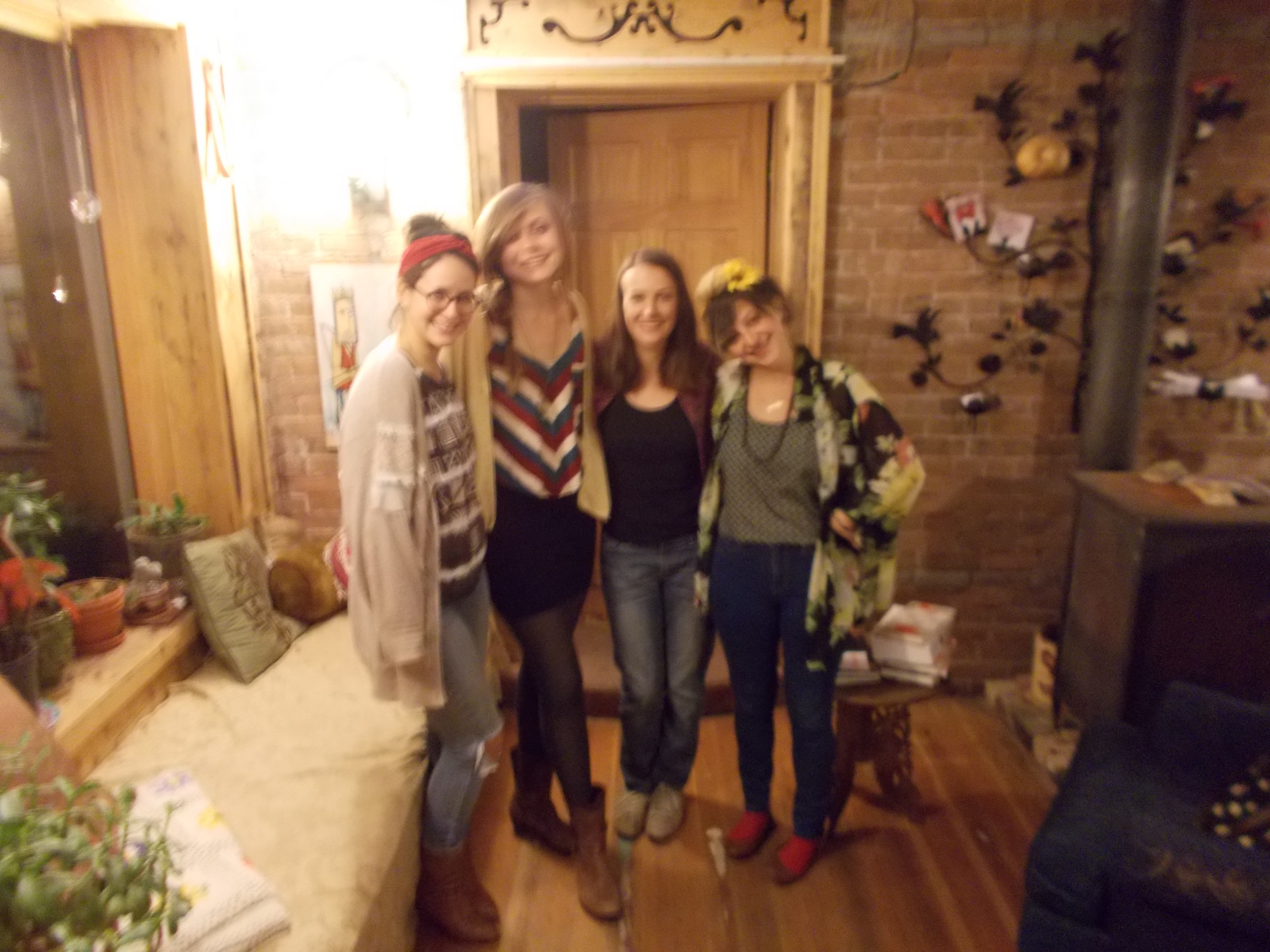 Melanie, Rose, me an Molly
