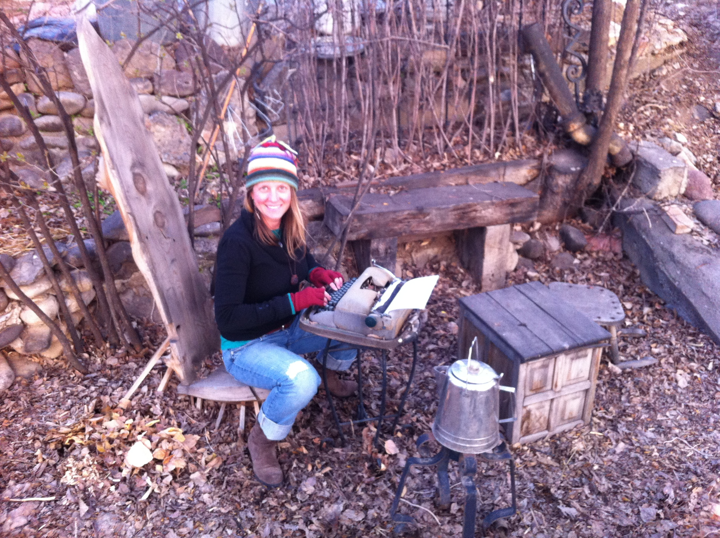 I'm all set here in Paonia CO… got my typewriter… got my tea kettle… good to go!