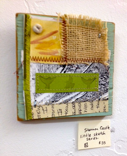 Shannon Castle, Little Sketch Series, Mixed Media, $35.jpg