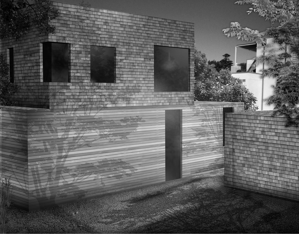 House in Remuera View+to+Garage B&W.jpg