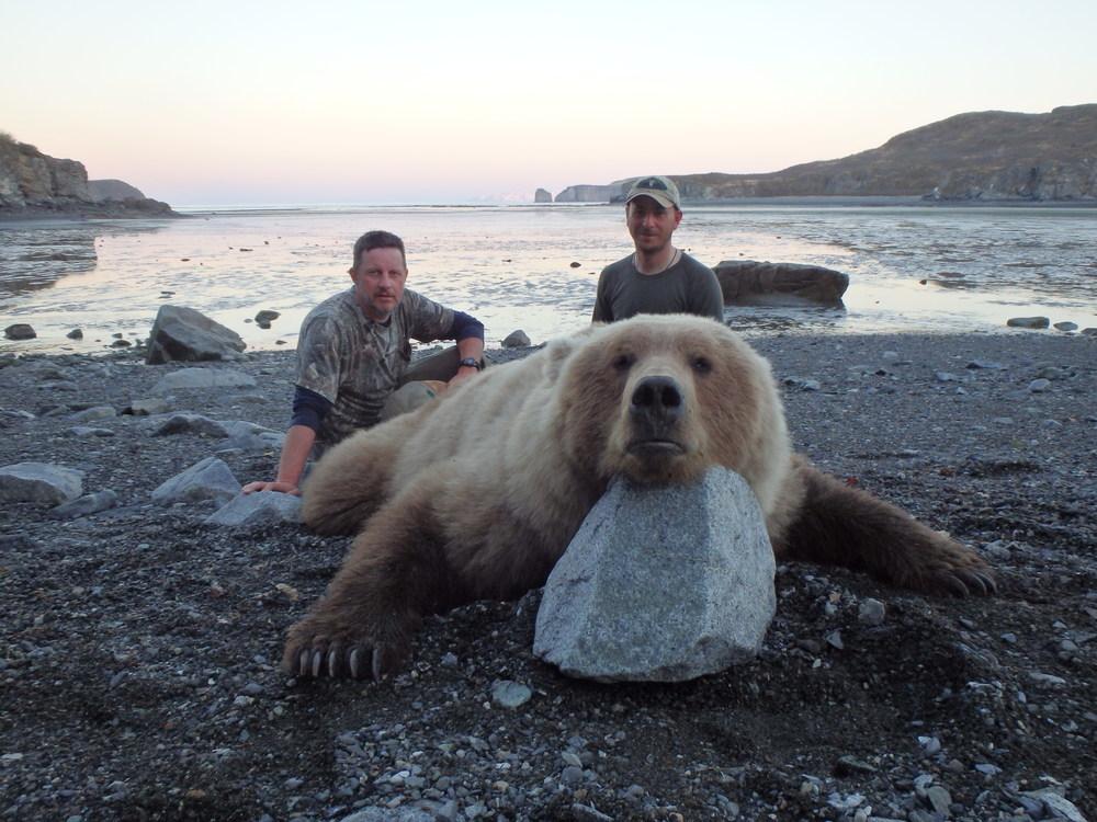 Весна 2014г. Полуостров Аляска. 7.5 Футов.