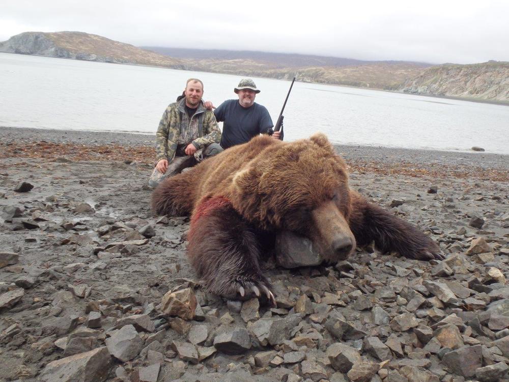 Весна 2016г. Полуостров Аляска. 9.5 Футов.