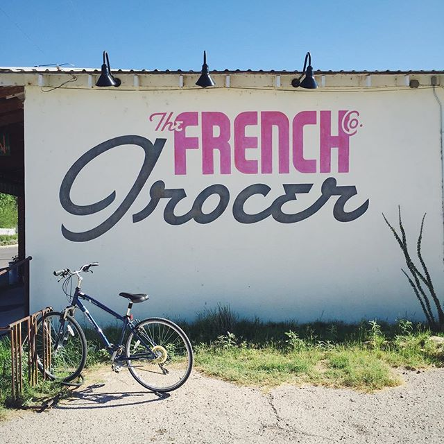 Neither French nor a grocery, really, but dang, that's a pretty logo.