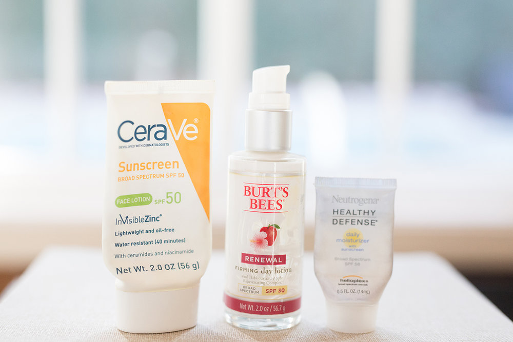 Sunscreen empties