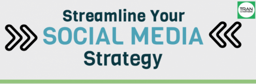 Tips to make your social media strategy more effective.  Posted on Tran & Partners company blog, August 13, 2014.