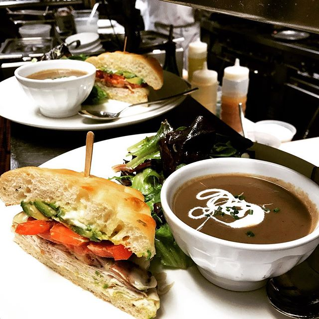 A 1/2 club sandwich and soup sounds delicious for lunch on these foggy days ✨ - - - - #garibaldissf #nowrongwaysf #richmonddistrict #marinasf #pacificheights #carlthefog #infatuationsf #sflife #sfeats #howsfseessf #bestofsf #sanfrancisco #mysf #sfchefs #sflocal #eatdrinksf #citybythebay #mysanfrancisco #bayareafoodie #sfguide #sf_insta #ilovesf #sanfrancitizens  #sanfranciscofood  #onlyinsanfrancisco  #sfstyle #sacramentostreet #sfdining #bestofsf #sfbucketlist #igerssf