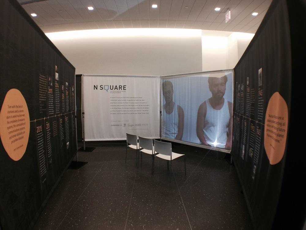 N Square Exhibit, University of Chicago