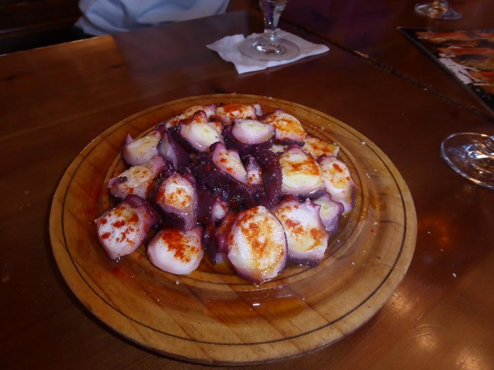 Pulpo (Galician octopus)