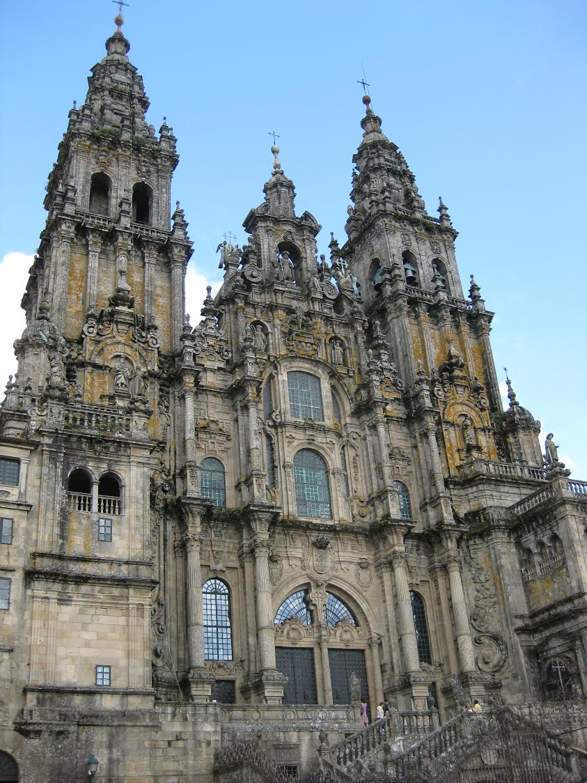 Santiago de Compostela Cathedral -click for larger view